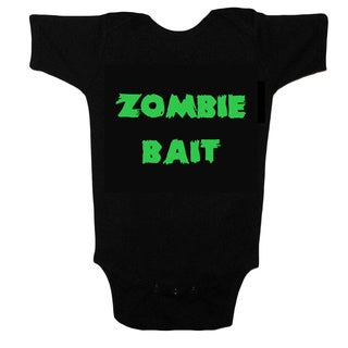 Unique Boutique Neutral 'Zombie Bait' Funny Bodysuit