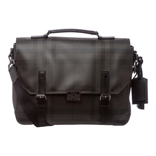 Burberry 'Grifford' Smoked Check Print Briefcase