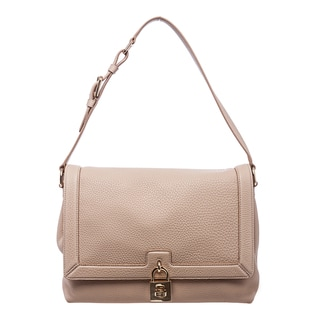 Dolce & Gabbana 'Miss Dolce' Nude Leather Shoulder Bag