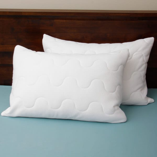 Coolmax Wicking Performance Quilted Pillow Protector (Set of 2)