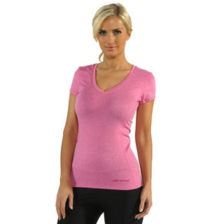 Under Armour Women's Pink Heat Gear Touch Short Sleeve V-Neck (Pack of 3)