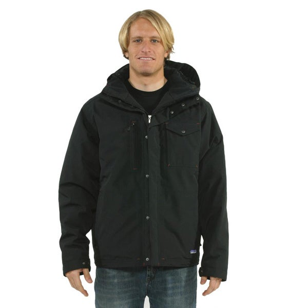 Patagonia Men's 'Wanaka' Black Down Jacket