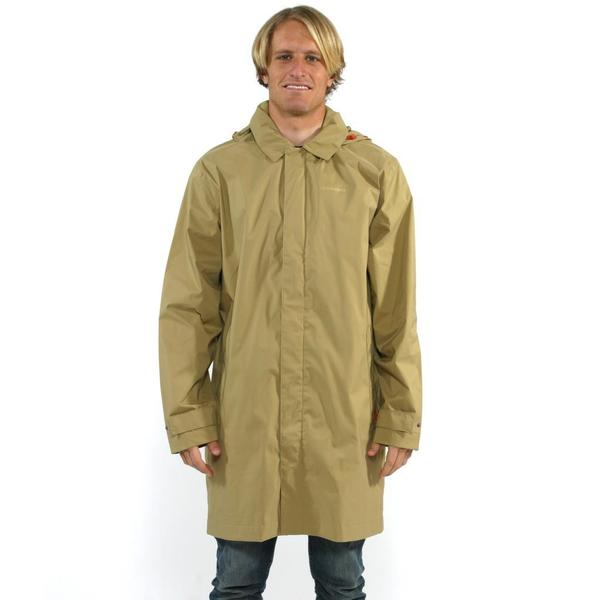 Patagonia Men's Classic Tan Fogbank Trench Coat