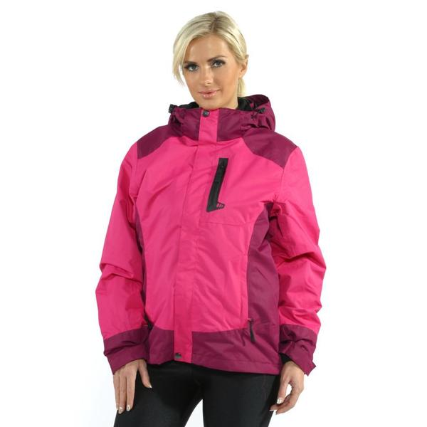 Pulse Women's Pink Bella Systems Snowboard Jacket