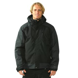 Pulse Men's Black/Grey Ridge Back Jacket