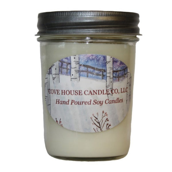 Scented Dye-free 8 oz. Jelly Jar Soy Candle 12437628