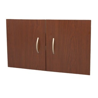 Organized Living freedomRail Modern Cherry O-Box 11.25-inch Accessory Doors