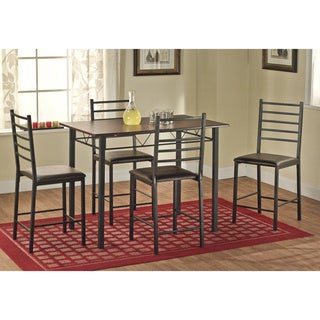 Simple Living Maxen Metal Counter Height 5-piece Dining Set