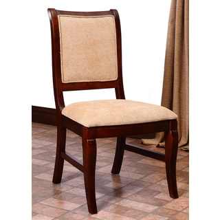 Bedford Medium Oak Upholstered Dining Chair