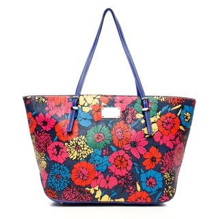 Nine West 'It Girl' Garden Floral Printed Tote Bag