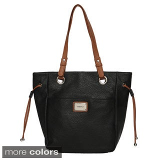 Nine West Westberry Dark Coral Tote Bag