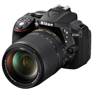 Nikon D5300 Black Digital SLR Camera with 18-55mm Lens