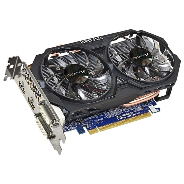 Gigabyte GV-N75TOC-2GI GeForce GTX 750 Ti Graphic Card - 2 GB GDDR5 S