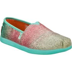 Girls' Skechers BOBS World III Glitterbug Blue/Multi