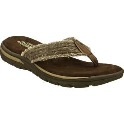 Men's Skechers Relaxed Fit Supreme Bosnia Chocolate