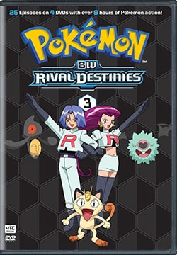 Pokemon: Black & White Rival Destinies Set 3 (DVD)