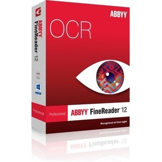 ABBYY FineReader v.12.0 Professional Edition - Upgrade Package - 1 Us