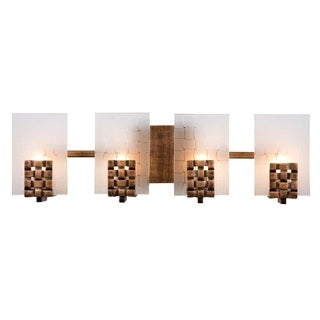 Varaluz Dreamweaver 4-light Blackened Copper Vanity Fixture
