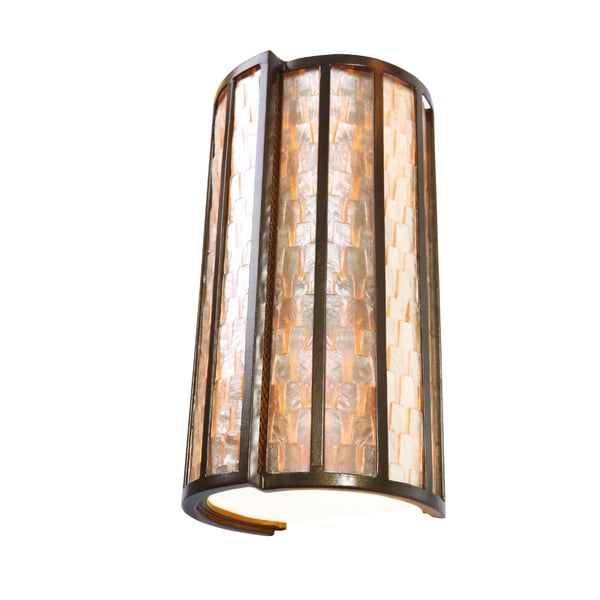 Varaluz Affinity 2-light New Bronze Sconce