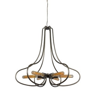 Varaluz 'The Whole Package' 6-light New Bronze Chandelier
