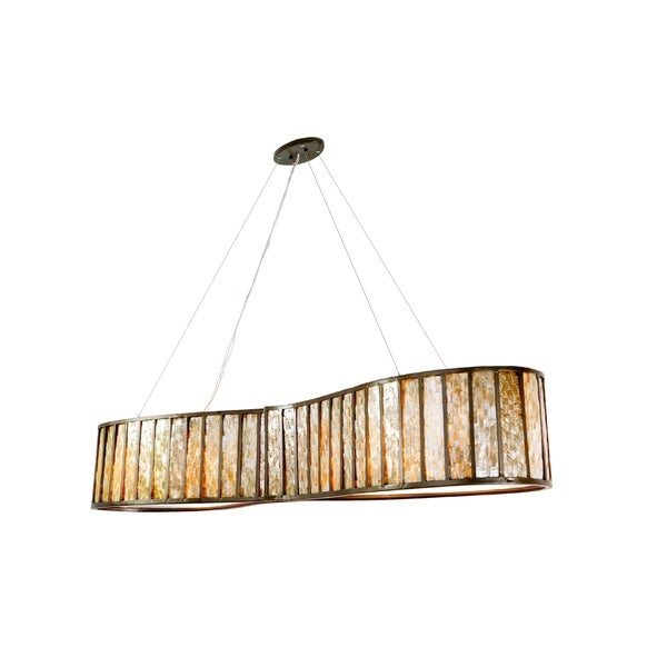 Varaluz Affinity 6-light New Bronze Linear Pendant