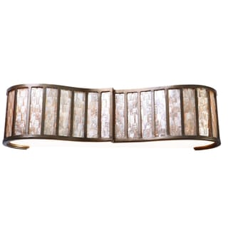 Varaluz Affinity 3-light New Bronze Vanity Fixture