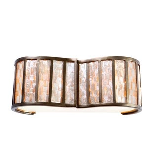 Varaluz Affinity 2-light New Bronze Vanity Fixture