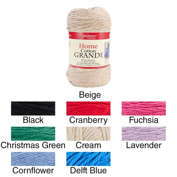Home Cotton Grande Yarn-Solid