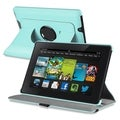 BasAcc Swivel Stand Leather Case for Amazon Kindle Fire HD 7-inch 2013