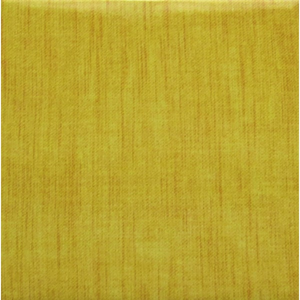 Yellow Woven Material Modern Ceramic Wall Tile (Pack of 20)