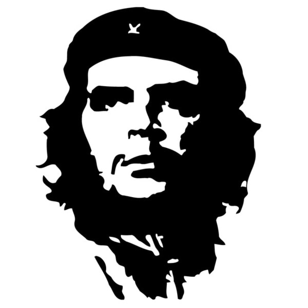 Defender Che Guevara Vinyl Wall Decal Art