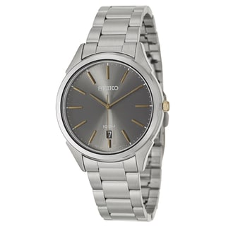 Seiko Men's 'Bracelet' Two-tone Stainless Steel Japanese Quartz Watch