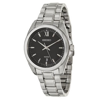 Seiko Men's 'Bracelet' Stainless Steel Japanese Quartz Watch