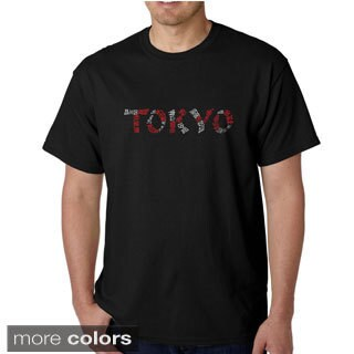 Los Angeles Pop Art Men's 'Tokyo' T-shirt
