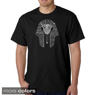 Los Angeles Pop Art Men's 'King Tut' T-shirt