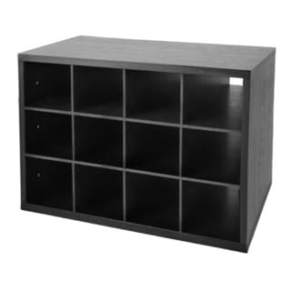 Organized Living freedomRail Midnight Live O-Box Shoe Cubby