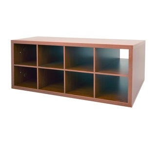 Organized Living freedomRail Modern Cherry Double Hang O-Box Cubby