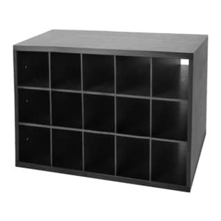Organized Living freedomRail Midnight Live Big O-Box Shoe Cubby