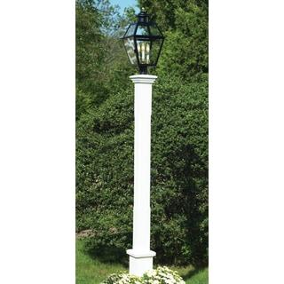 Lazy Hill Farm Designs 'Barrington' White Lantern Post