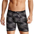 New Balance Men's Black Slanted Photoprint Boxer Briefs