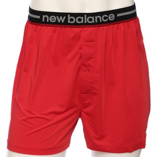 New Balance Men's Red Lifestyle Boxer Shorts