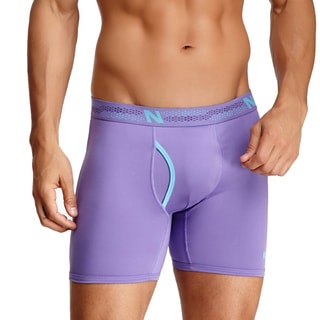 New Balance Men's Purple Logo Photoprint Boxer Briefs