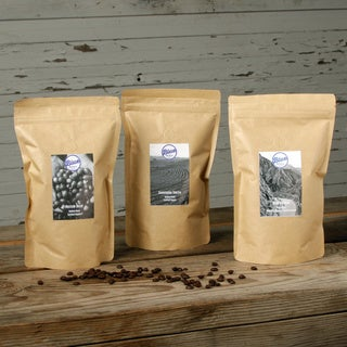 Blue Roasting Company Organic Assorted Regular and Decaf Coffee (Pack of 3)