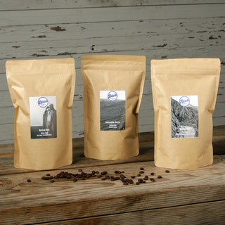 Blue Roasting Company Organic Assorted Coffee Bundle (Pack of 3)