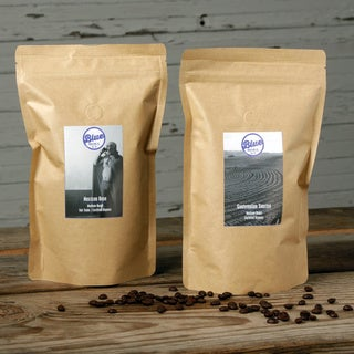 Blue Roasting Company Organic Guatemalan Sunrise and Mexican Rose Coffee (Pack of 2)