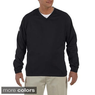 Adidas Golf Men's ClimaProof V-Neck Wind Shirt