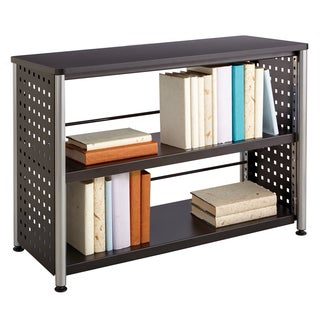 Scoot Black 2-shelf Bookcase
