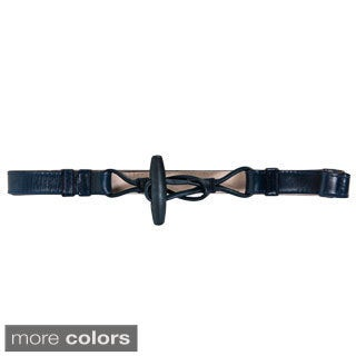 American Apparel Women's Leather Toggle Belt
