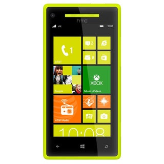 HTC 8X 8GB Unlocked GSM Yellow Windows 8 OS Cell Phone