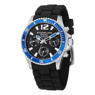 Stuhrling Original Men's Endurance Interchangeable Strap Watch